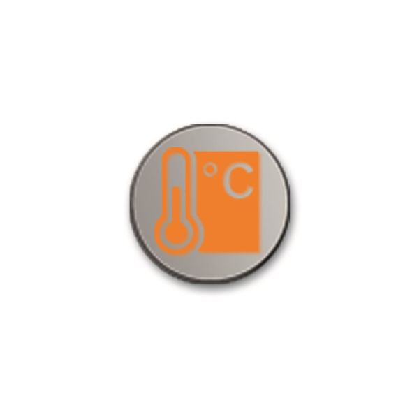 ABB Busch-priOn 6310-0-0095 Painikesymboli Symboli: Termostaatti