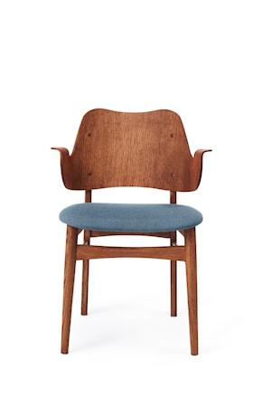 Gesture Chair S Teak Denim Blue Canvas