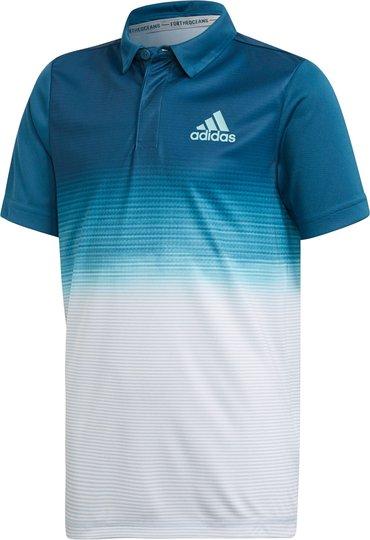 Adidas Boys Parley Polo Treningstrøye, White 116
