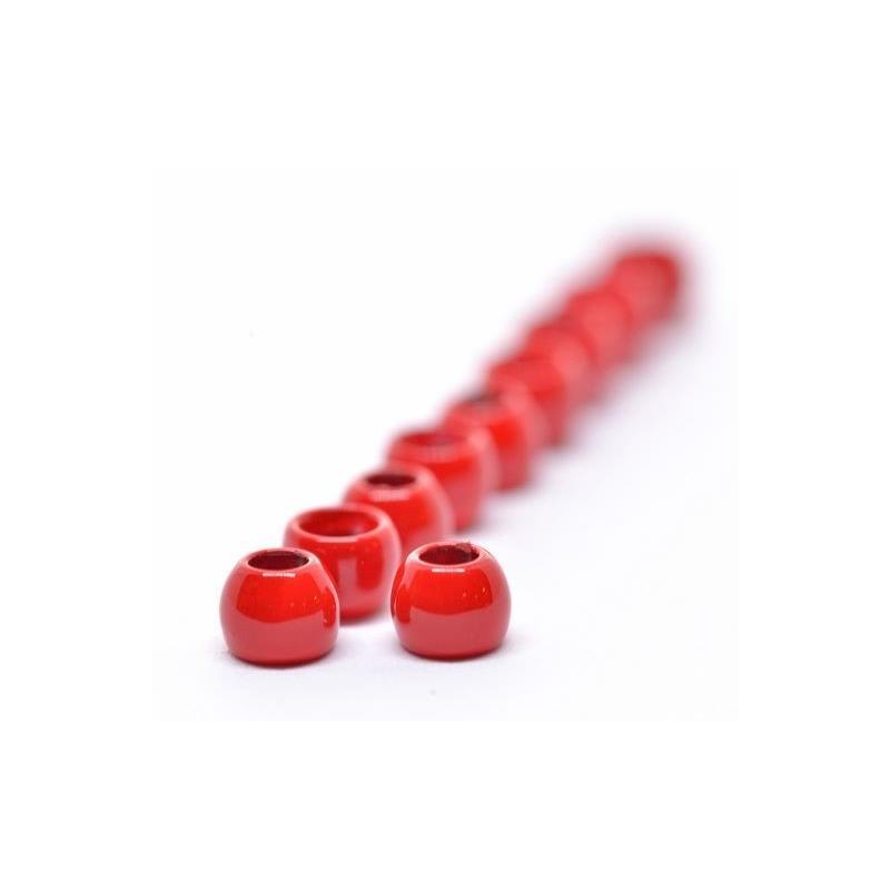 FF Brass Beads 4mm - Dark Red FutureFly