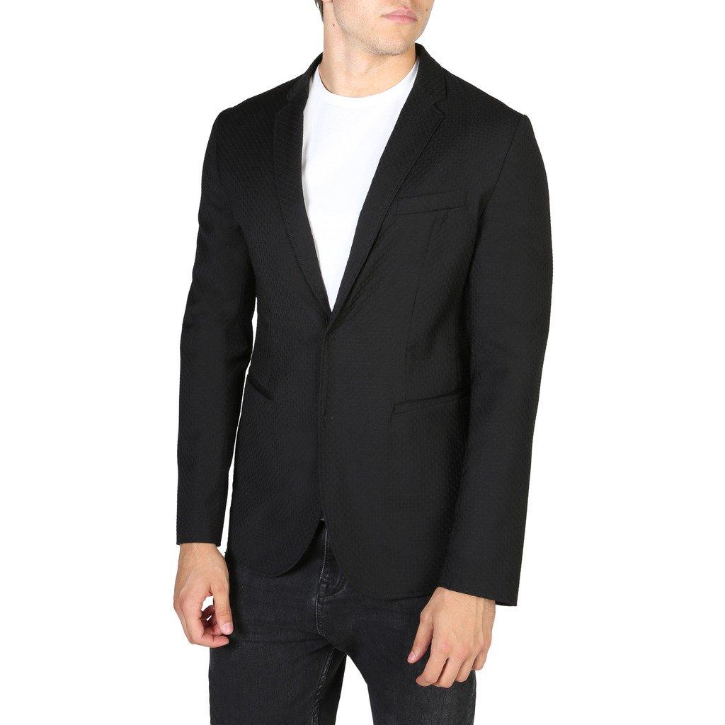 Emporio Armani Men's Blazer Black V1G620V1201 - black 54 EU