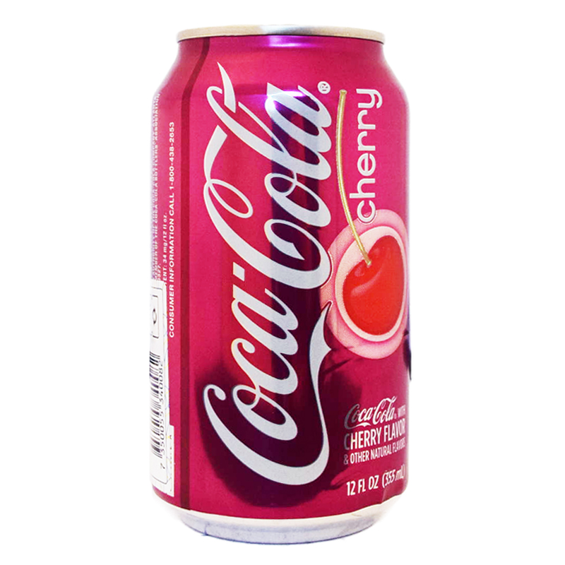 "Coca Cola ""Cherry"" 355ml - 41% rabatt"