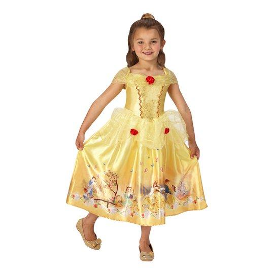 Prinsessan Belle Barn Klänning - Small