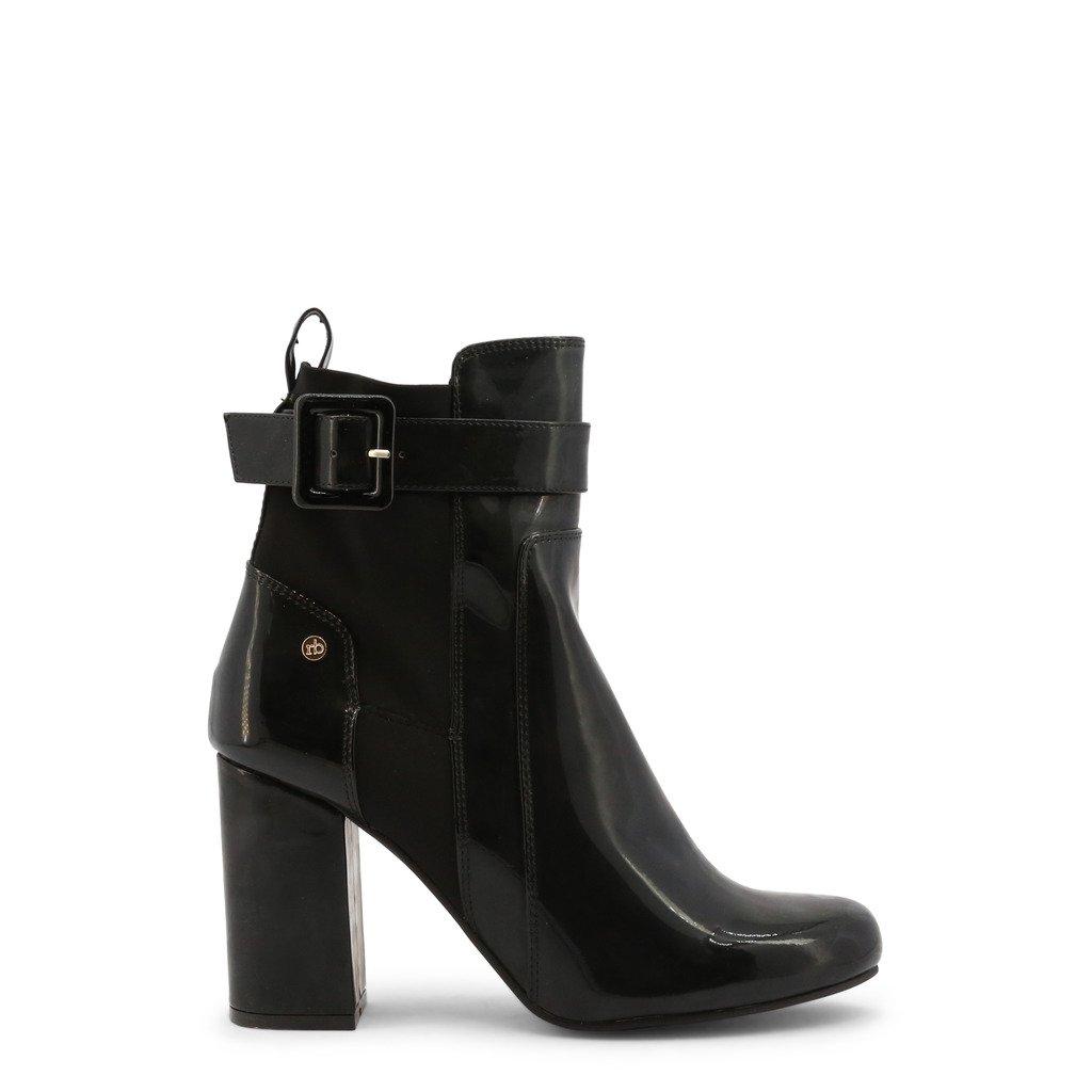 Roccobarocco Women's Ankle Boot Black RBSC1J103STD - black EU 37