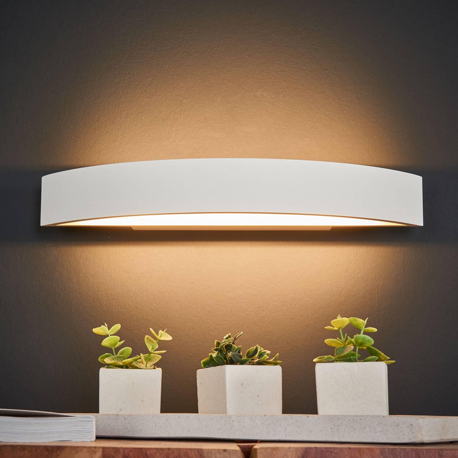 Helestra Yona LED-seinävalaisin valkoinen 37,5 cm