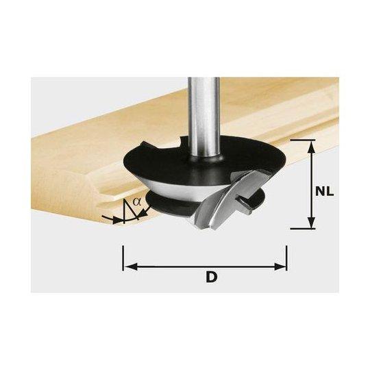 Festool HW D 64/27 S12 Liimasaumajyrsinterä kara 12 mm