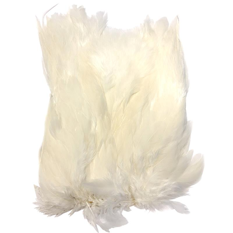 Softhackle patch White
