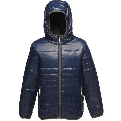 Regatta Kid's Stormforce Thermoguard Thermal Jacket Various Colours TRA454 - Navy 3-4 Years