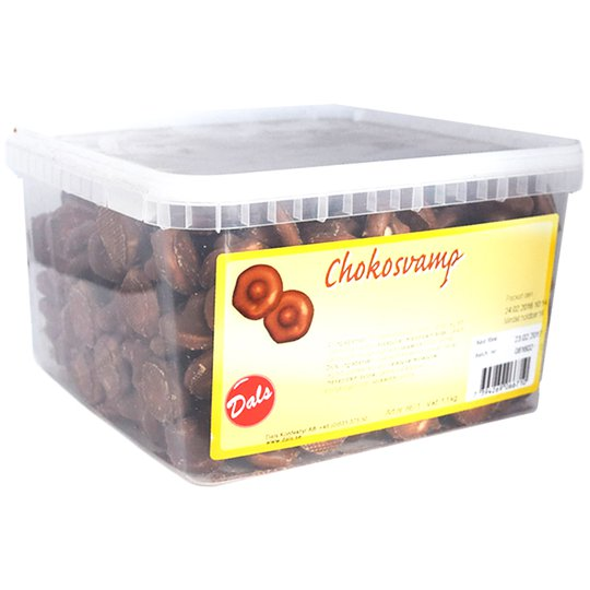Hel låda Chokosvamp 1,1kg - 61% rabatt