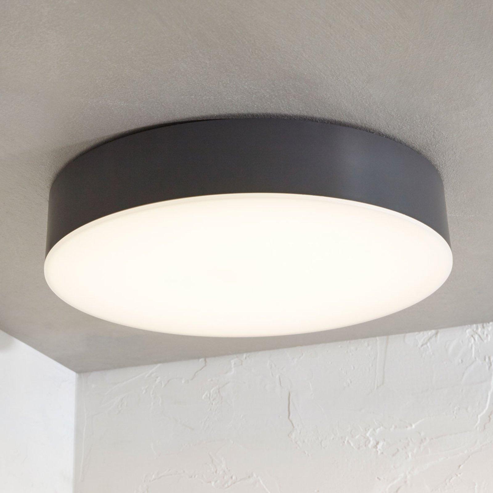 Utendørs LED-taklampe Lahja, IP65 mørkegrå