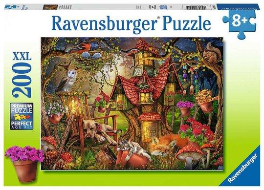 Ravensburger Den lille hytta Puslespill 200 Brikker