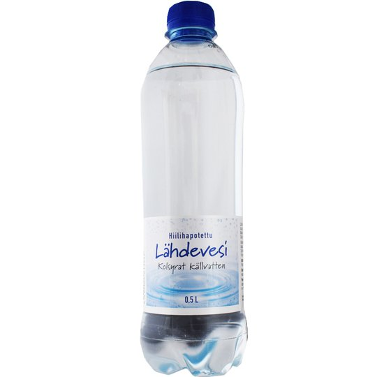 Hiilihapotettu Lähdevesi - 28% alennus