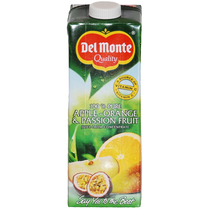 Juice Äpple, Apelsin & Passionsfrukt 1l - 33% rabatt