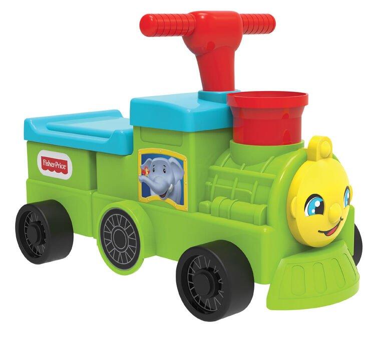 Fisher-Price - Tootin' Train Ride- On (503124-2)