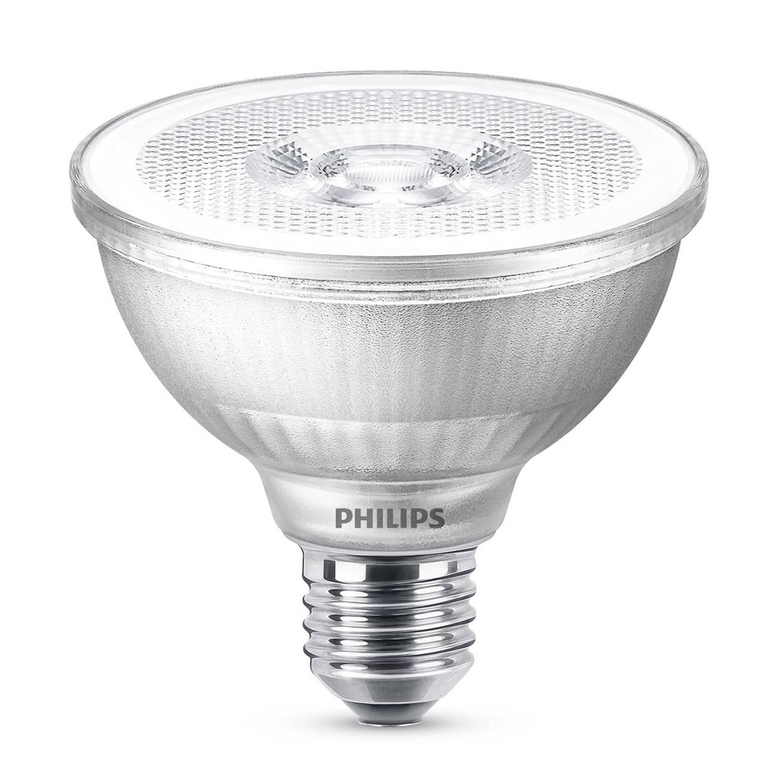 LED-reflektor PAR30S E27 9,5W, varmhvit, dimbar