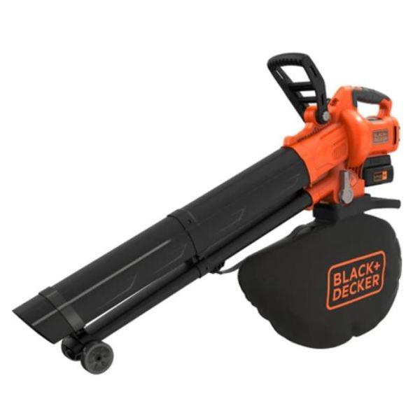 Black & Decker BCBLV3625L1-QW Lehtipuhallin mukana akku ja laturi
