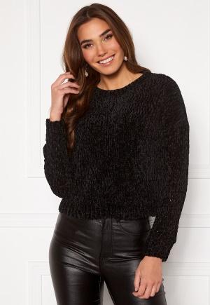 ONLY Shilla L/S Pullover Knit Black S