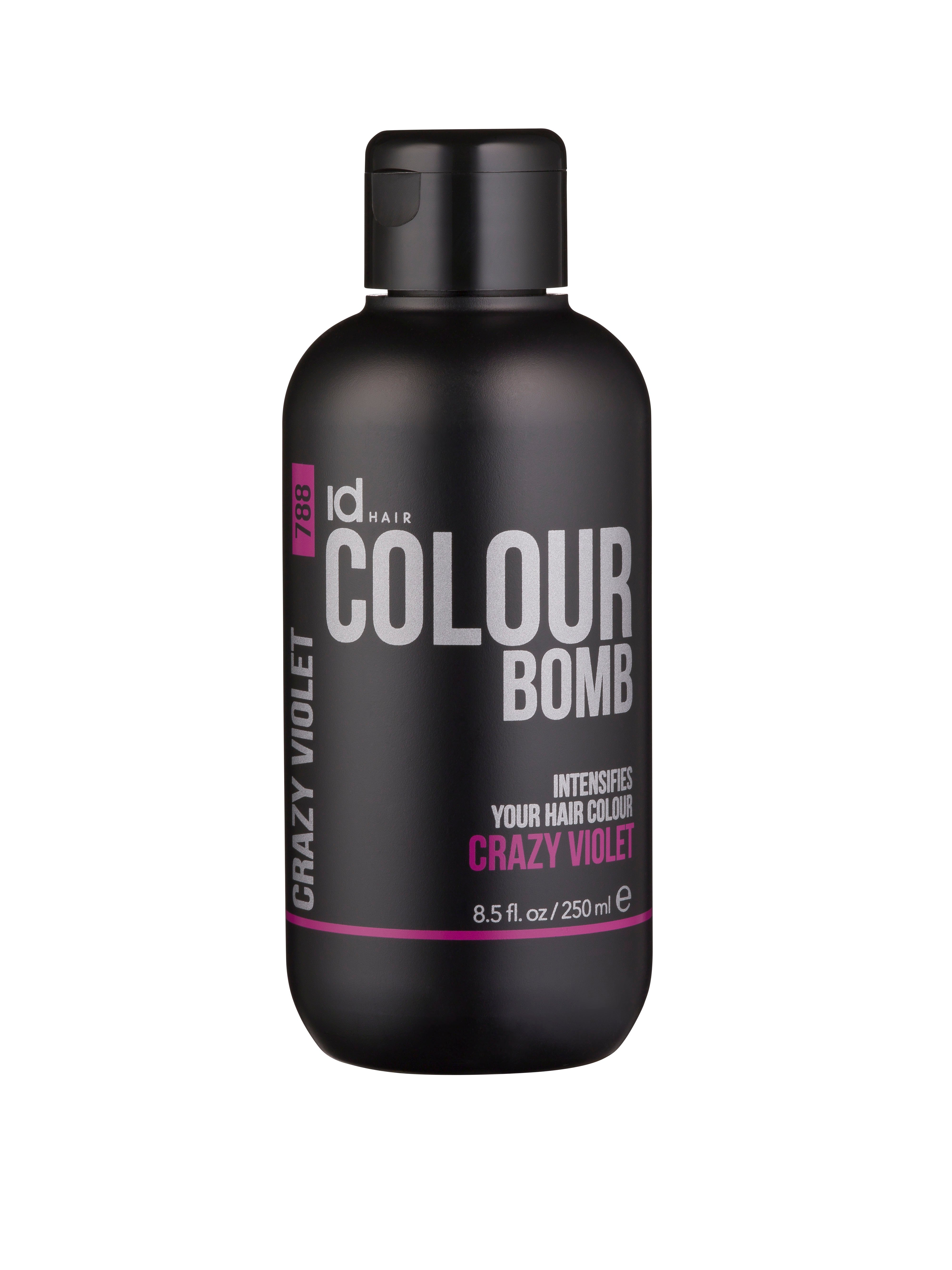 IdHAIR - Colour Bomb 250 ml - Crazy Violet