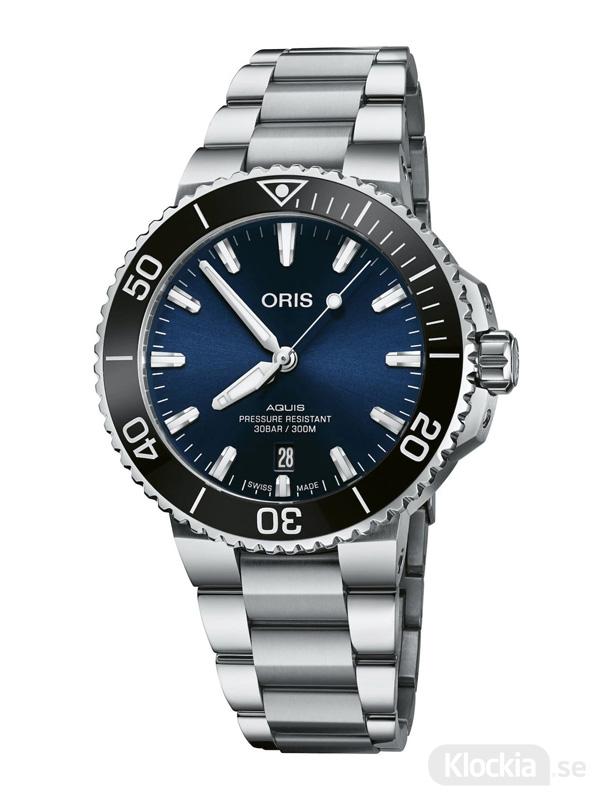 ORIS Aquis Date 41.5mm 733-7766-4135-07-8-22-05PEB