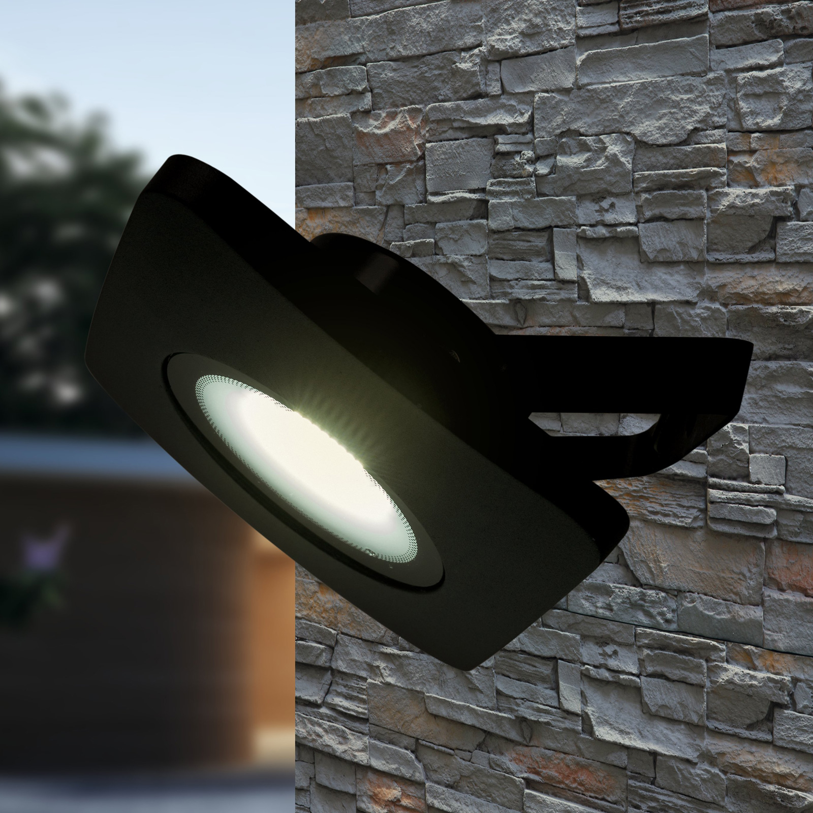 LED-valonheitin Bolton musta 50 W