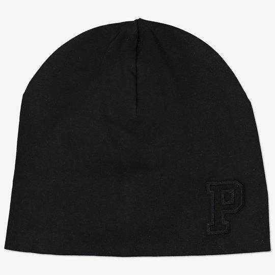 Ensfarget hatt svart