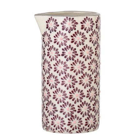 Maya Milk Jug Purple Stoneware