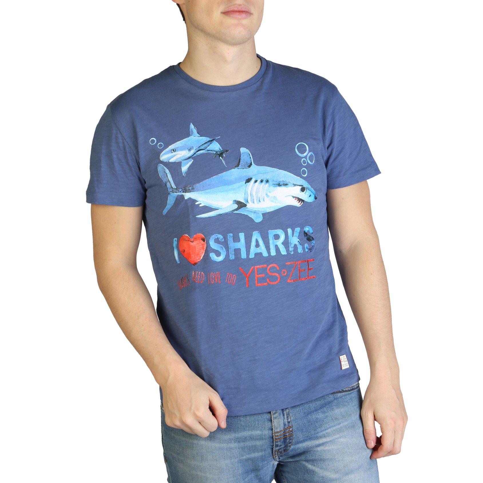 Yes Zee Men's T-Shirt Various Colours T700_TL17 - blue S