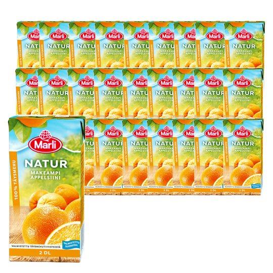 Marli Natur Appelsiinitäysmehu 27kpl - 21% alennus
