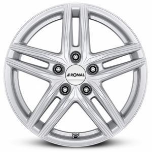 RONAL R65 Silver 6.5x16 5/100 ET40 B68