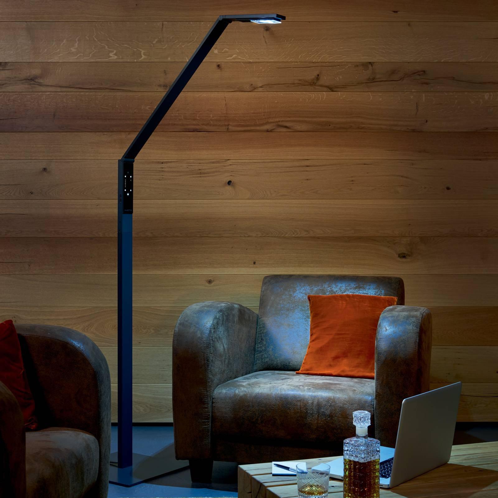 Luctra Floor Linear LED-gulvlampe svart