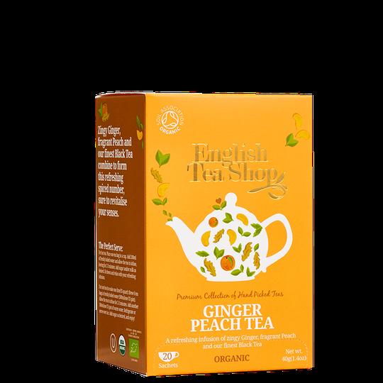 Ginger Peach Tea, 20 tepåsar