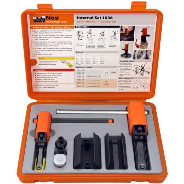 NES 1036 Gjengereparasjonssett innvendig 22–68 mm