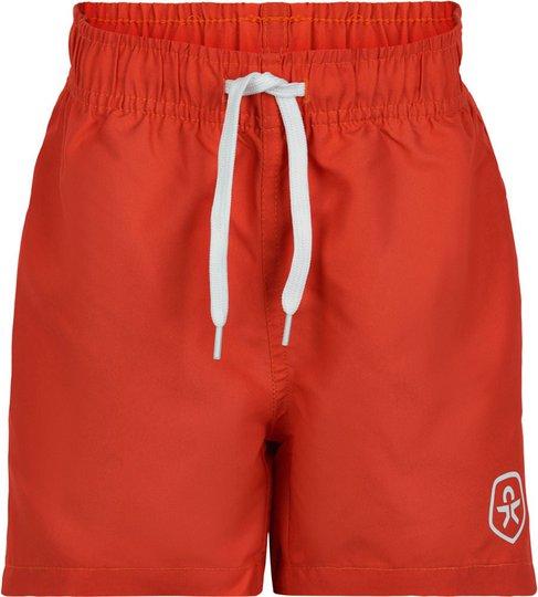 Color Kids Badeshorts UPF30+, Fire, 104