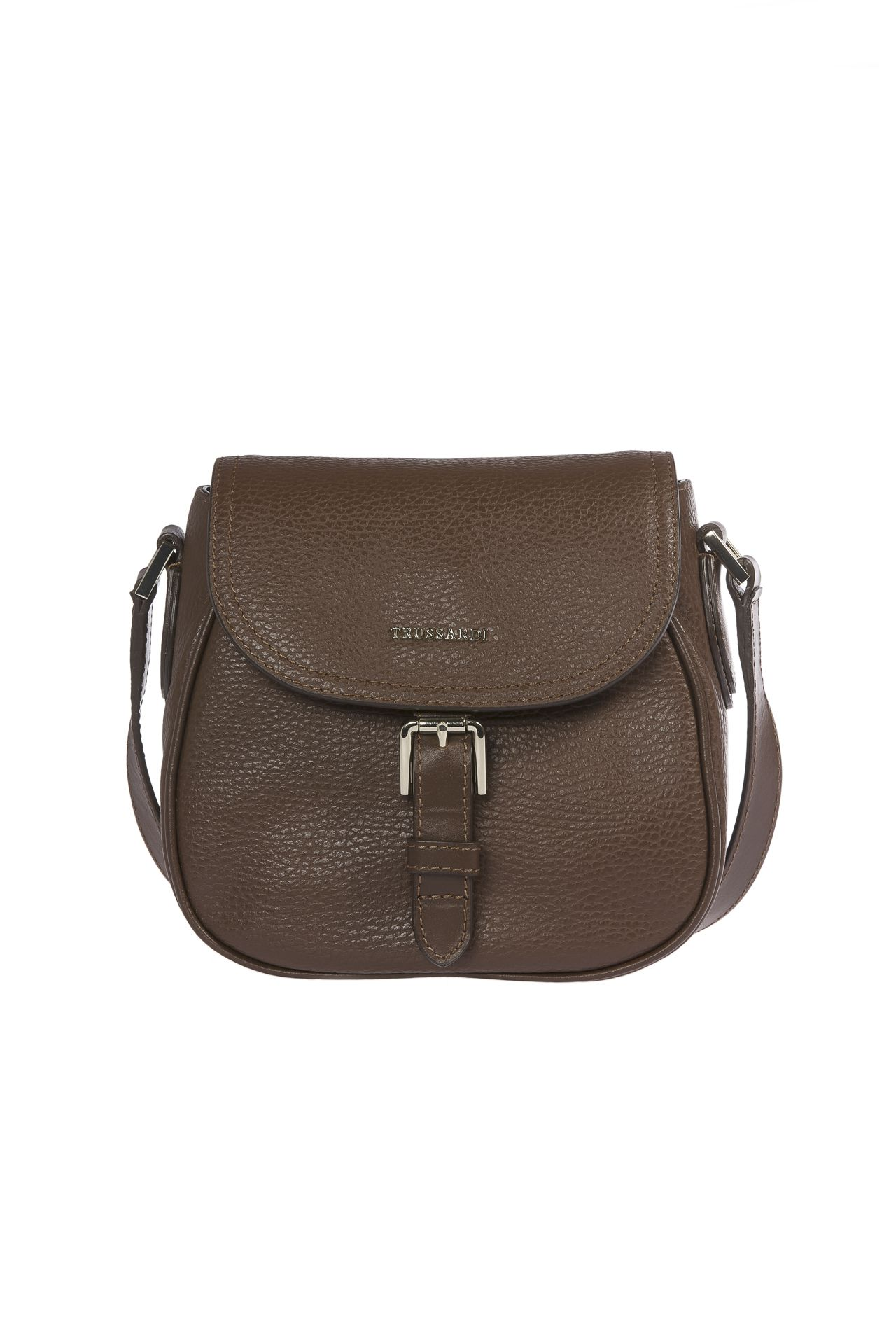 Trussardi Women's Crossbody Bag Brown 1DB513_69DarkBrown
