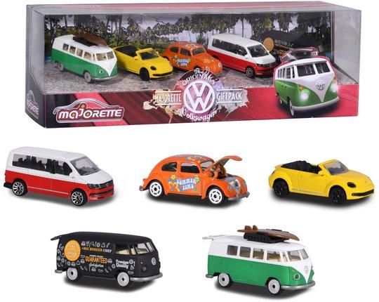 Majorette Lekebiler Volkswagen 5-Pack