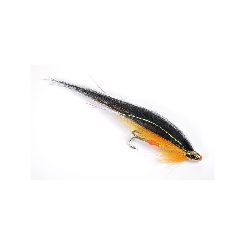 ScullRay - Black & Orange 6cm Kjøp 12 fluer få gratis flueboks
