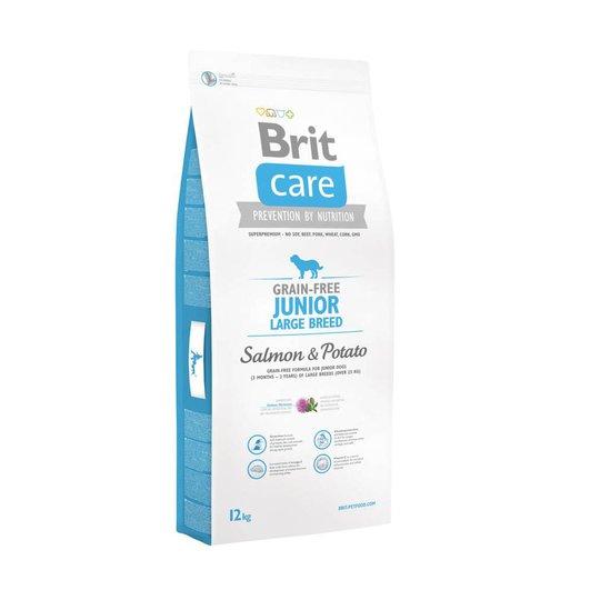 Brit Care Grain-free Junior Large Salmon & Potato (12 kg)