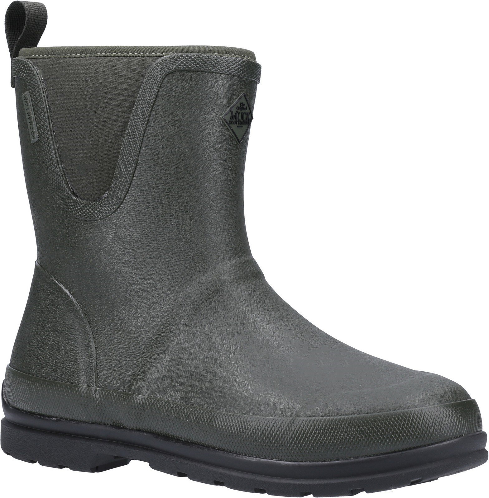 Muck Boots Unisex Originals Pull On Mid Boot Various Colours 30078 - Moss 4