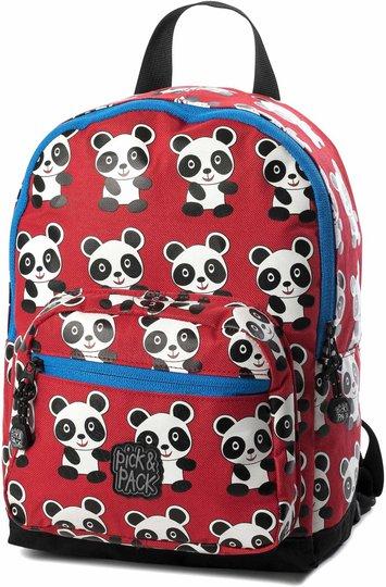 Pick & Pack Ryggsekk Panda, Red