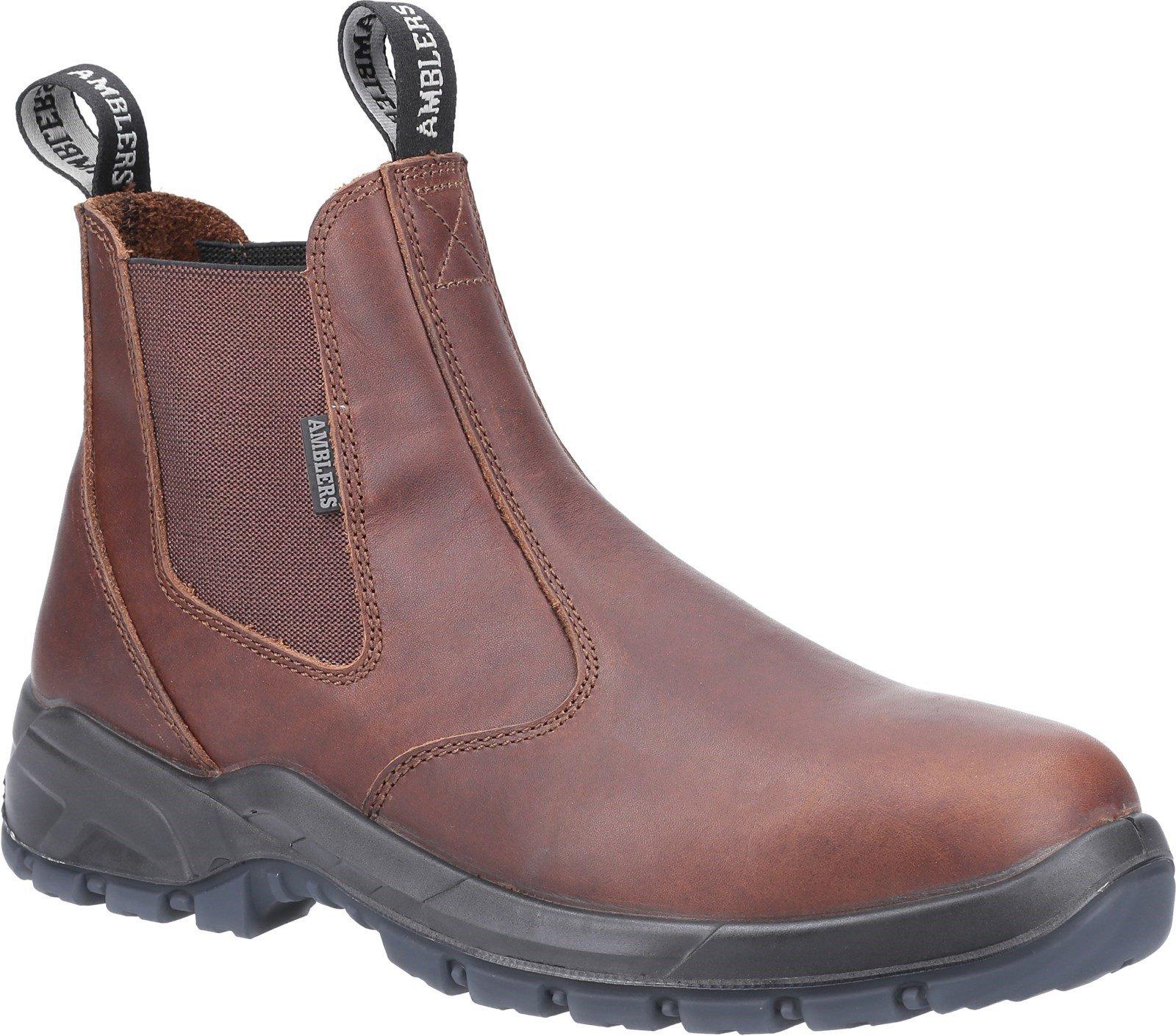 Amblers Unisex Ardwell Occupational Dealer Boot Brown 31379 - Brown 4