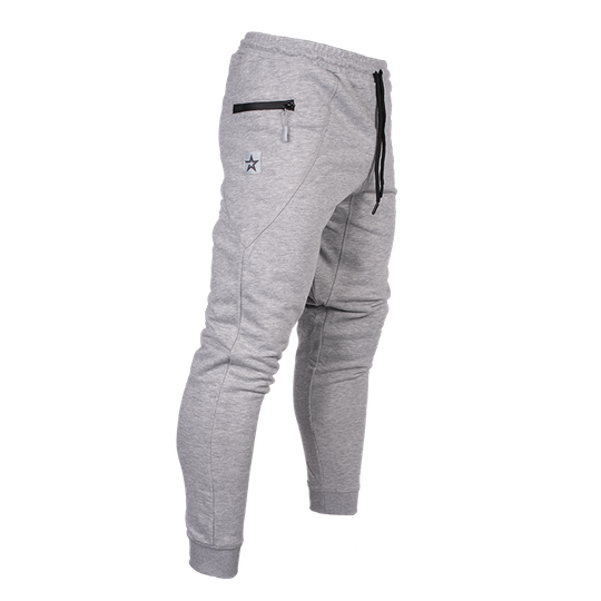 Star Challenge Pants, Grey Melange