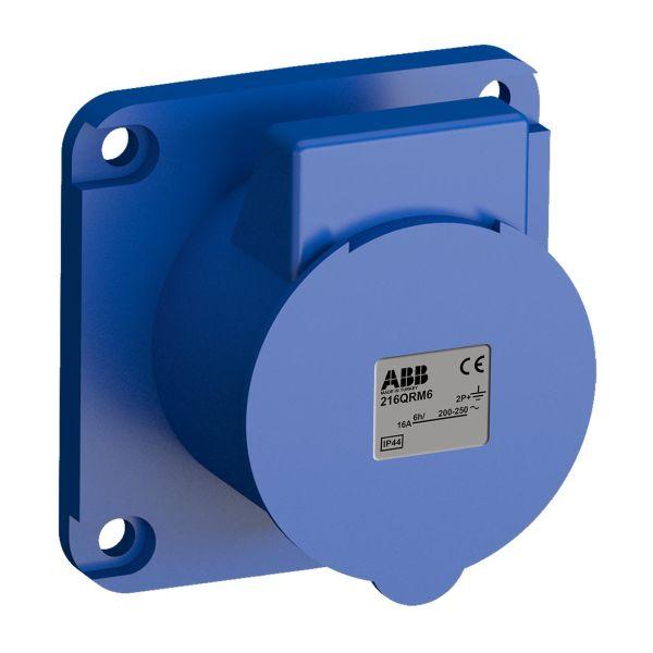 ABB 2CMA102288R1000 Paneelin ulostulo pikaliitettävä, tärinänkestävä Suora, 70 mm