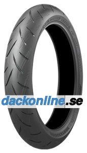 Bridgestone S 21 F ( 130/70 ZR16 TL (61W) M/C, Framhjul )