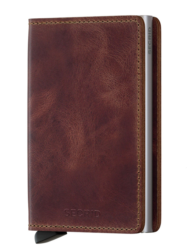 Secrid Slimwallet Vintage Brown SV-Brown
