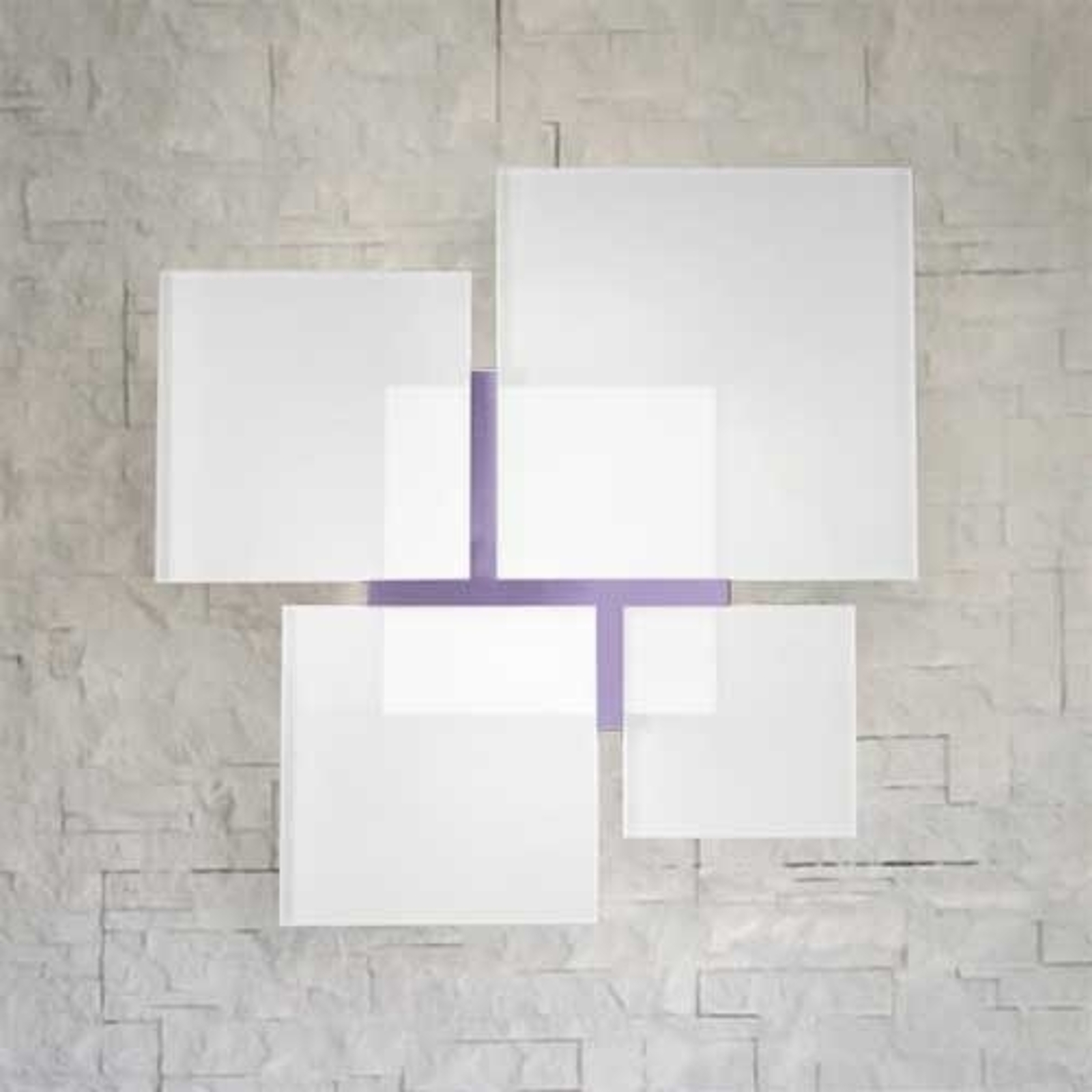 Seinävalaisin QUADRIFOGLIO 8050, violetti, 36 cm