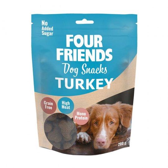 Four Friends Dog Snacks Turkey 200 g
