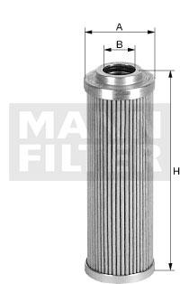 Hydrauliikkasuodatin, ohjaus MANN-FILTER HD 57/4