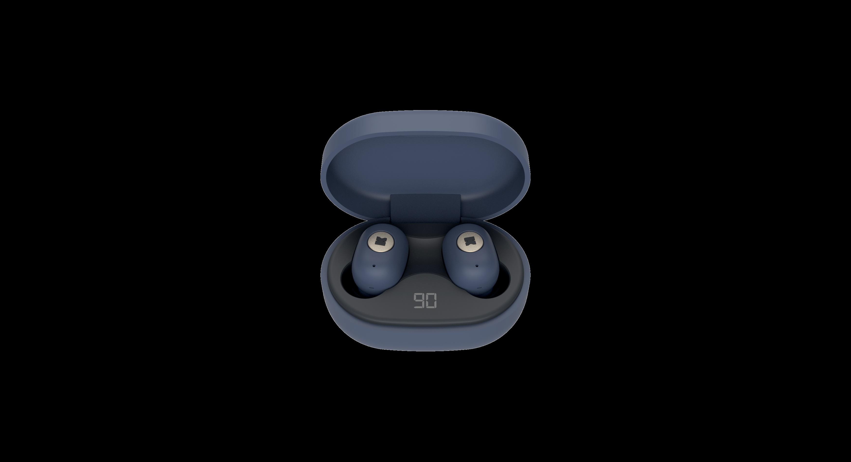 KreaFunk - aBEAN In-Ear Bluetooth Headphones - Midnight Blue (KFLP06)