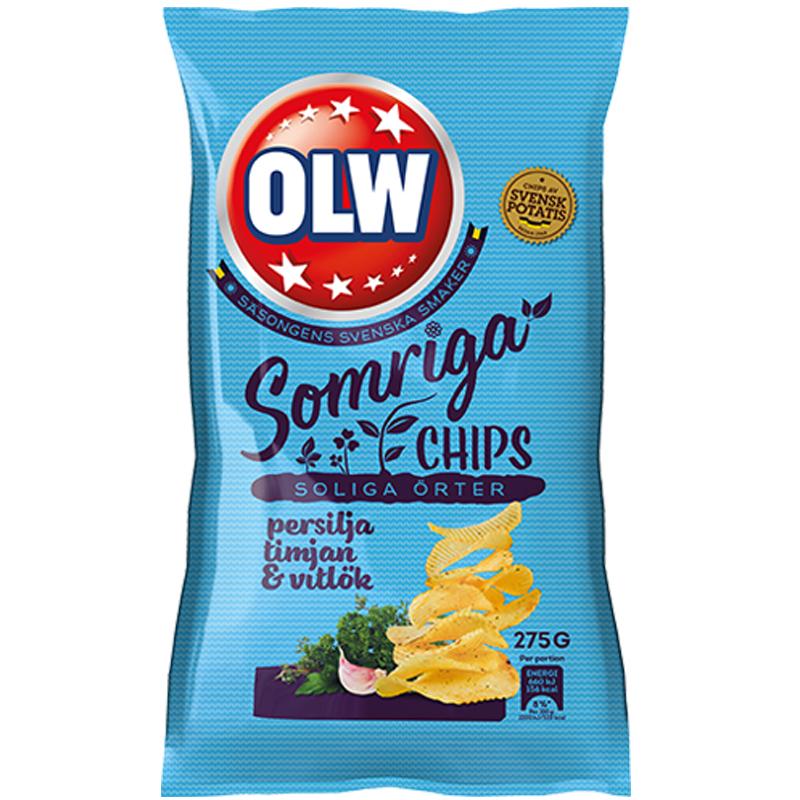 Chips Persilja, Timjan & Vitlök - 85% rabatt