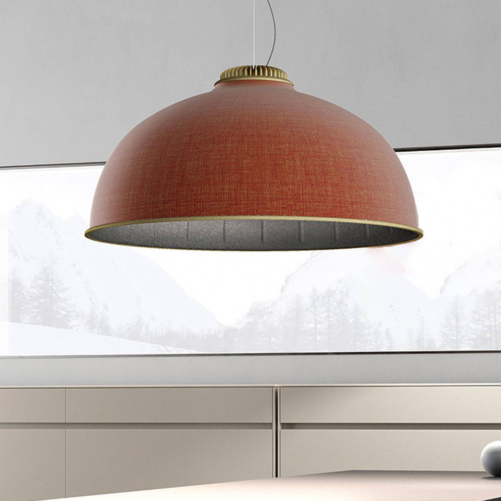 Luceplan Farel LED-riippuvalaisin varjostin ruoste